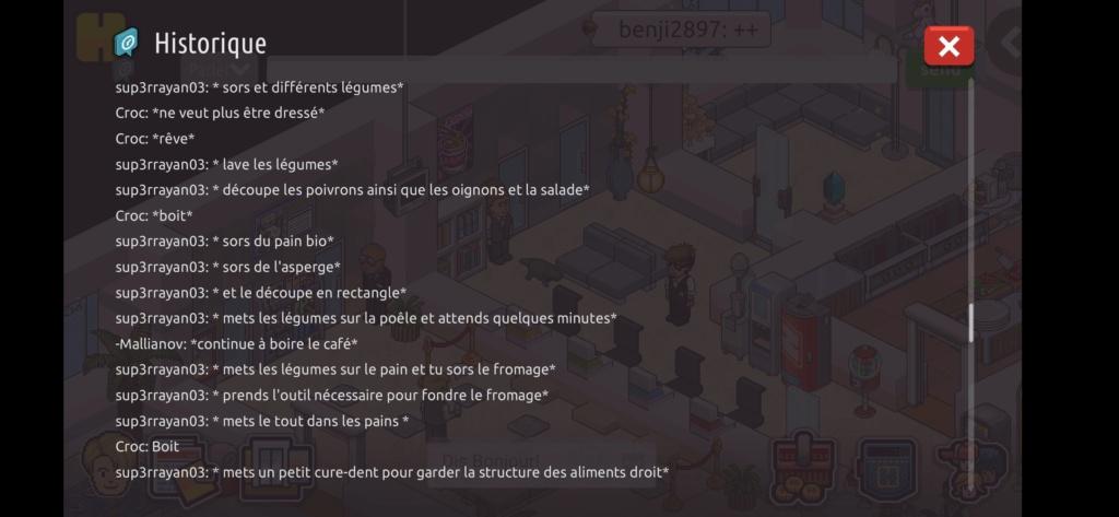 [Restaurant] Rapports d'actions RP de Sup3rrayan03  Scree111