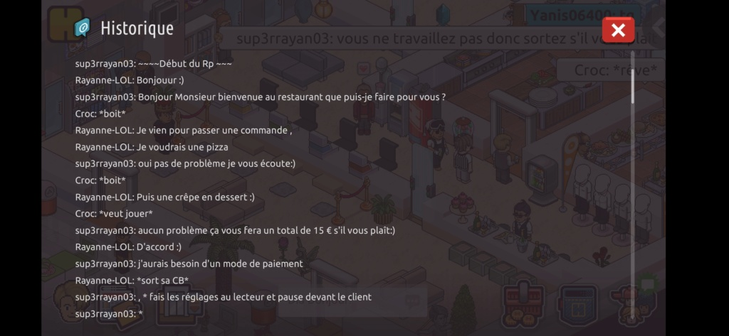 [Restaurant] Rapports d'actions RP de Sup3rrayan03  Screen83
