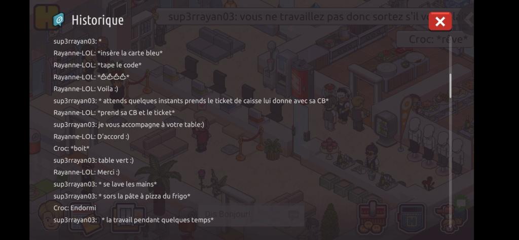 [Restaurant] Rapports d'actions RP de Sup3rrayan03  Screen84