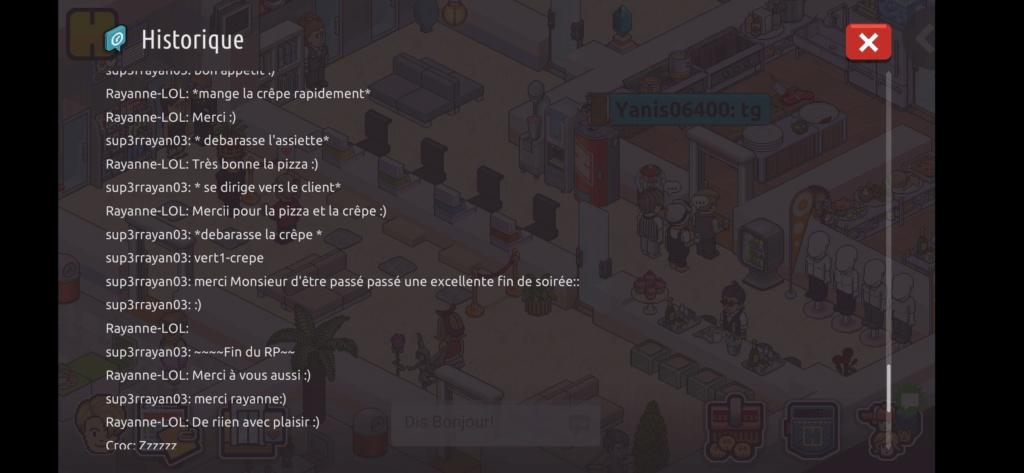 [Restaurant] Rapports d'actions RP de Sup3rrayan03  Screen89