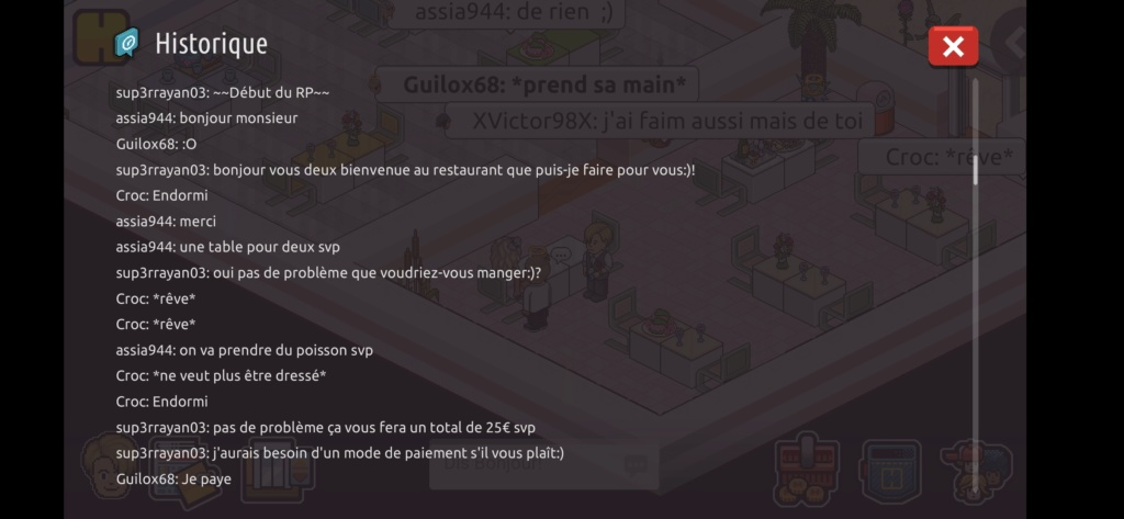 [Restaurant] Rapports d'actions RP de Sup3rrayan03  Screen93