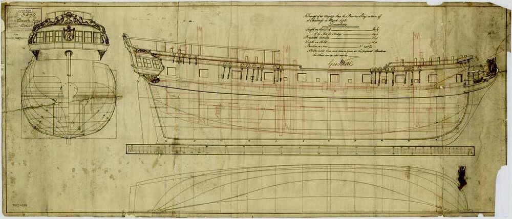 Navire corsaire - 1777 67d8b810