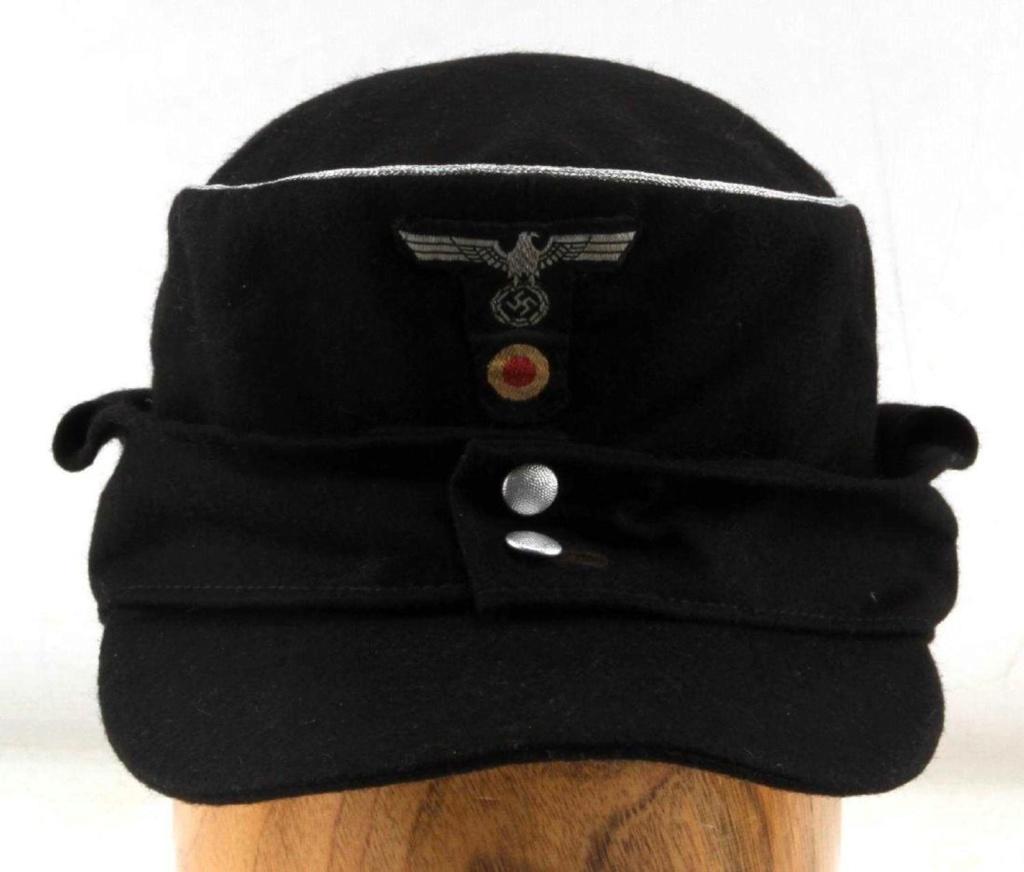 Casquette Panzer Officier : Casque21