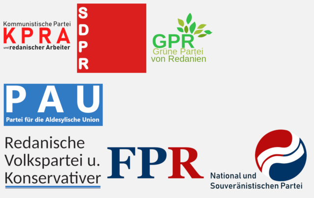Rédanie | Bundesrepublik Redanien Partis10