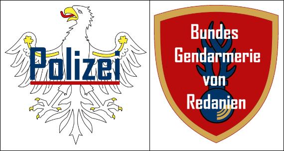 Rédanie | Bundesrepublik Redanien Polize10