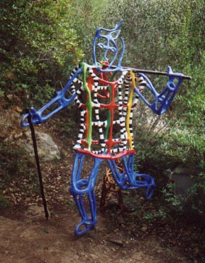 El Jardín del Tarot de Niki  de Saint Phalle El_loc10
