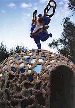El Jardín del Tarot de Niki  de Saint Phalle La_tem10