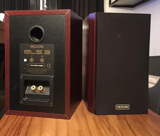 (SOLD) EPOS ELS-3 Loudspeaker / Bookshelf Speaker Img-0123