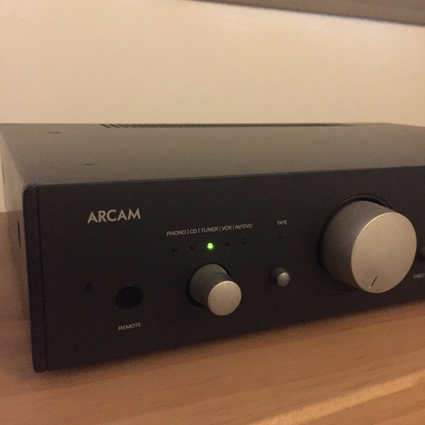 ARCAM A65 Integrated Amplifier Img-2913