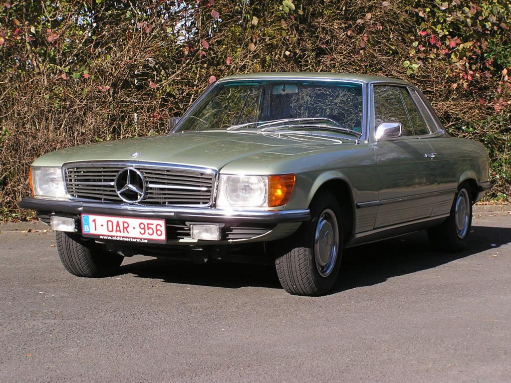 Djinxx 500 sec phase 2 de 1986, r129 300sl24v de 1992, w107 350 slc de 1974 P1010110