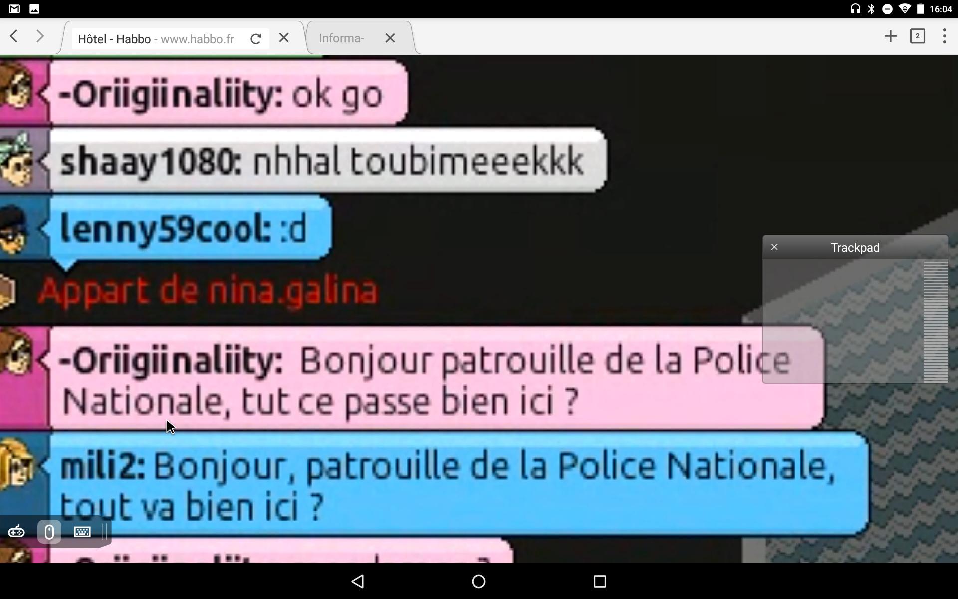 [P.N] Rapports de patrouilles d'-Oriigiinaliity Screen36
