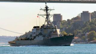 """الأسطول الروسي في البحر الأسود يتعقب المدمرة الأمريكية """"دونالد كوك"""" 5c437f10"""