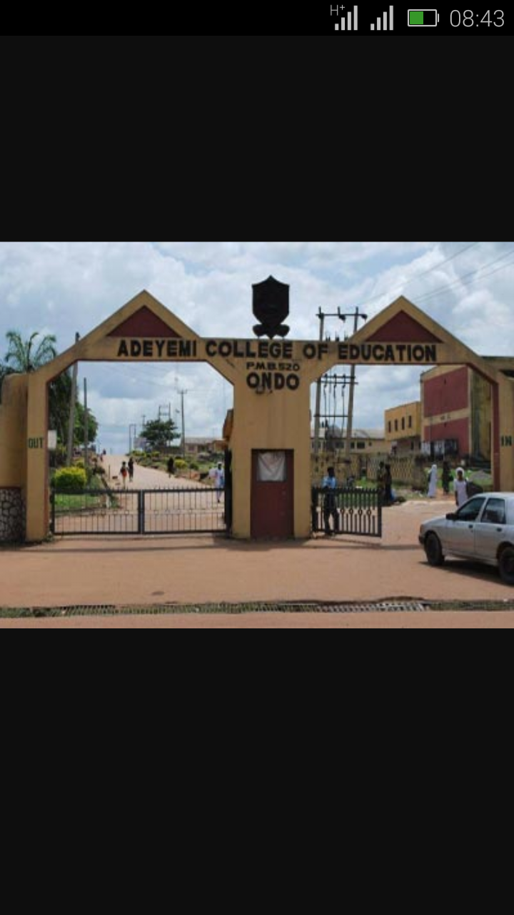 Adeyemi College of Education Ondo (ACEONDO) Mid-Semester Break Screen17