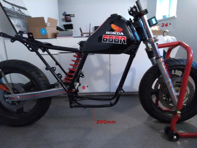 Monocylindre Honda piste 85 730mm_10