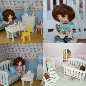 Dioramas, meubles, miniatures pour dolls 1/8, 1/6 et 1/4 Img_2011