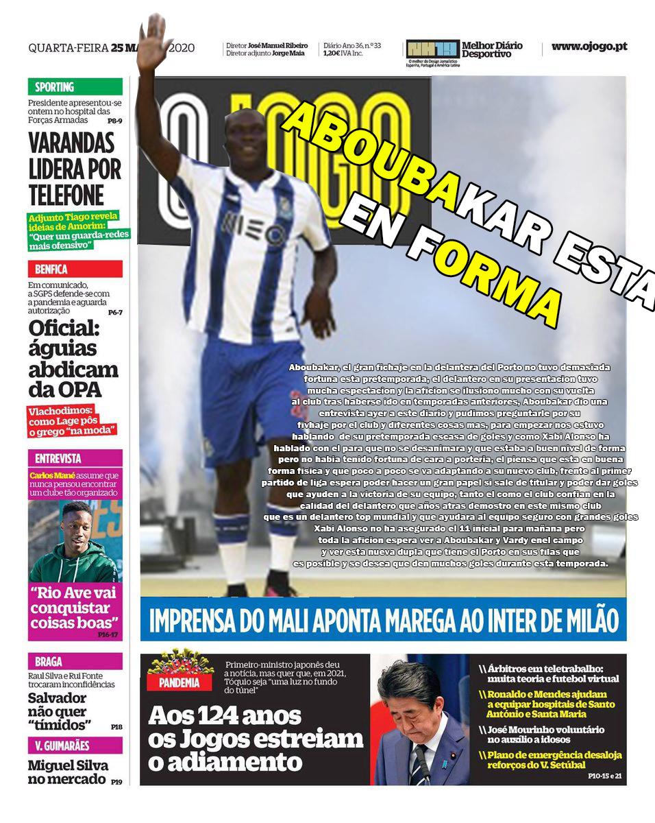 DIARIO O JOGO II FC PORTO  Diario11