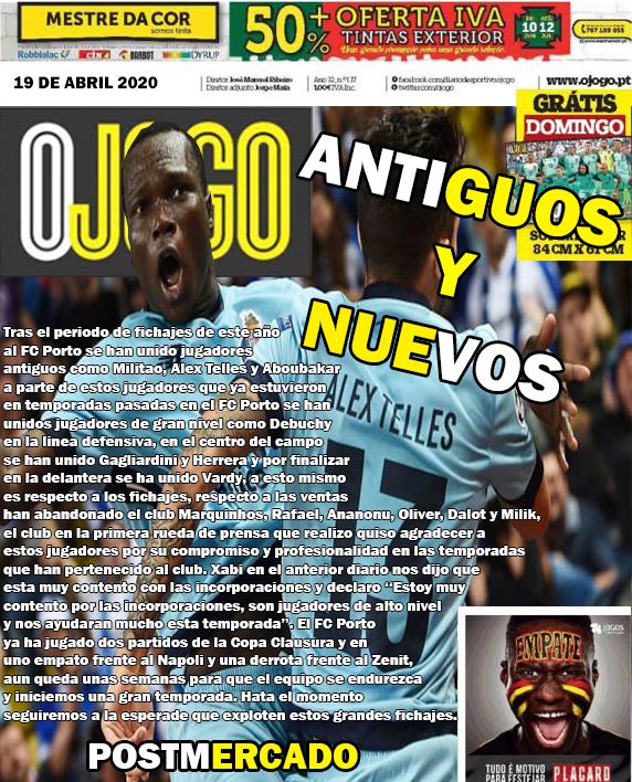 DIARIO O JOGO II FC PORTO  Diario14
