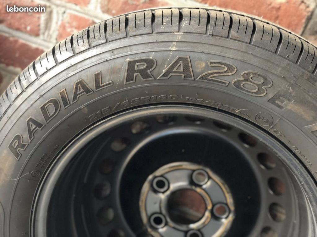 4 Roues + pneus Hankook 215/65R16 + enjoliveurs T6 - Neufs 97b62910
