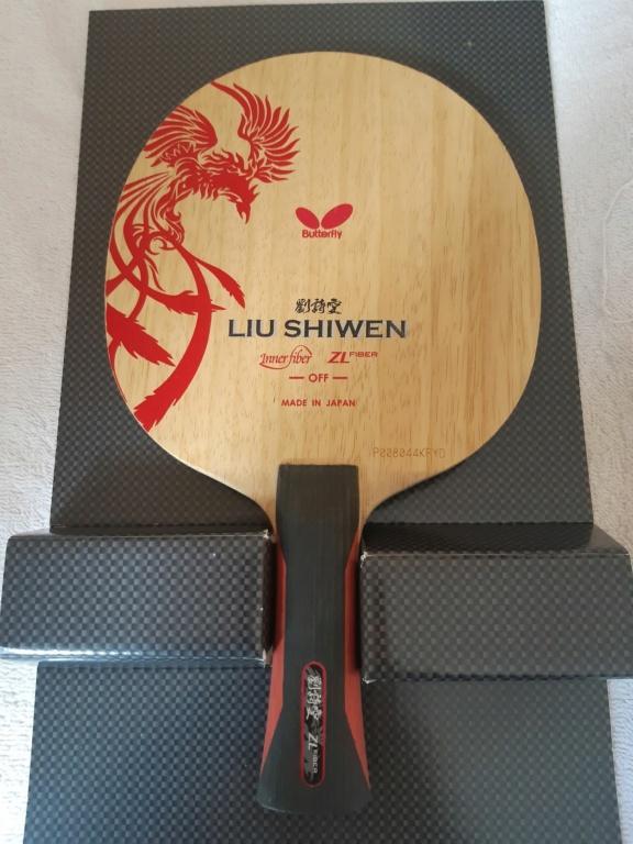 2x Butterfly Liu Shiwen ZLF 20210918