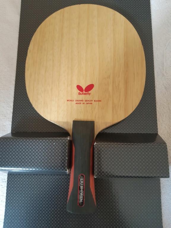 2x Butterfly Liu Shiwen ZLF 20210919