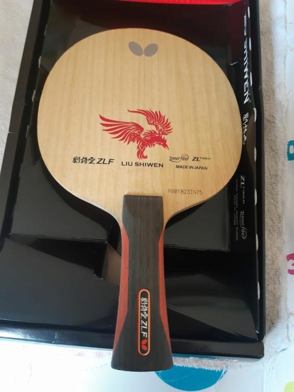2x Butterfly Liu Shiwen ZLF 20210920