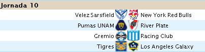 Alineaciones Liga BBVA - Jornada 10 10b10