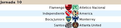 Alineaciones Liga Santander - Jornada 10 10s10