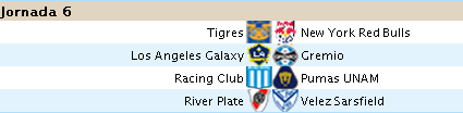 Alineaciones Liga BBVA - Jornada 6 610