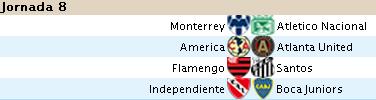 Alineaciones Liga Santander - Jornada 8 8s10
