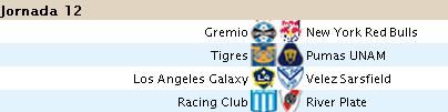 Alineaciones Liga BBVA - Jornada 12 B1210