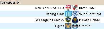 Alineaciones Liga BBVA - Jornada 9 B911