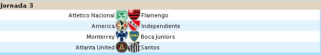 Alineaciones Liga Santander - Jornada 3 J3_san10