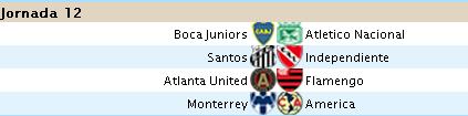 Liga Santander - Jornada 12 S1210