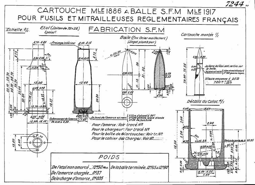 """8mm Lebel - Modifier """"N"""" 8lebel11"""