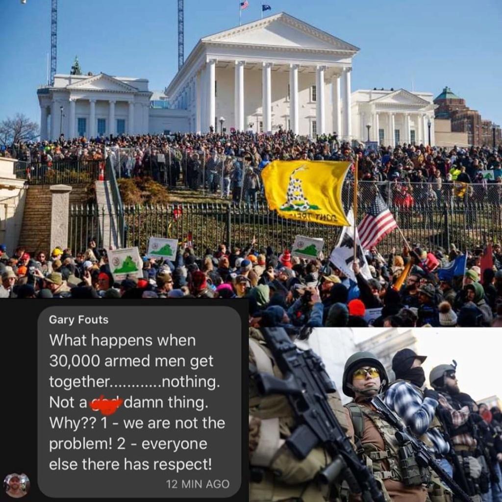 Des milliers d'Américains manifestent pour défendre le droit de détenir des armes Fb_img12
