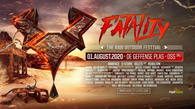 Fatality - The RAW Outdoor Festival - 1 Août 2020 - Geffense Plas - Oss - NL Bannie12