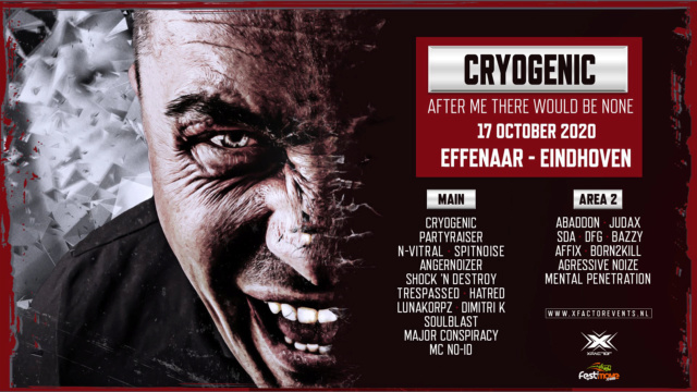 Cryogenic - After me there would be None - 17 octobre 2020 - Effenaar - Eindhoven - NL Cryoge10