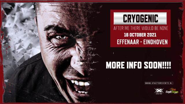 Cryogenic - After me there would be None - 16 octobre 2021 - Effenaar - Eindhoven - NL Cryoge11