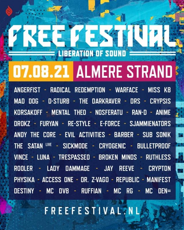 Free Festival - 2 Juillet 2022 - Almere Strand - NL Free-f11