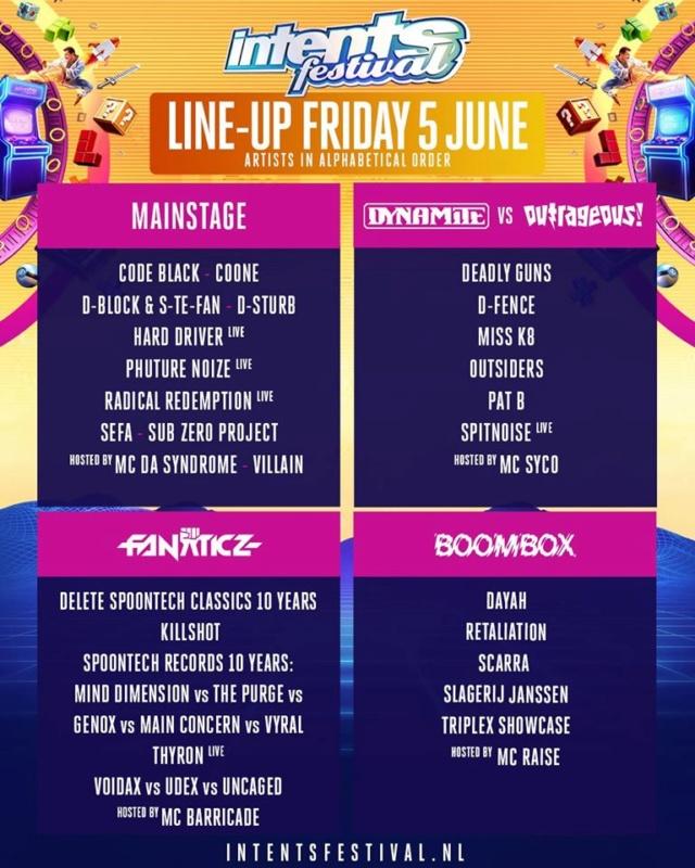 INTENTS FESTIVAL WEEKEND - 5 au 8 Juin 2020 - Oisterwijk (NL) Line-u11