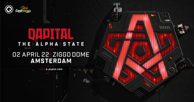 QAPITAL - 02 Avril 2022 - Ziggodome - Amsterdam - NL Qapita12