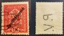 Lochung auf Briefmarken - Perfin - Österreich Marke_11