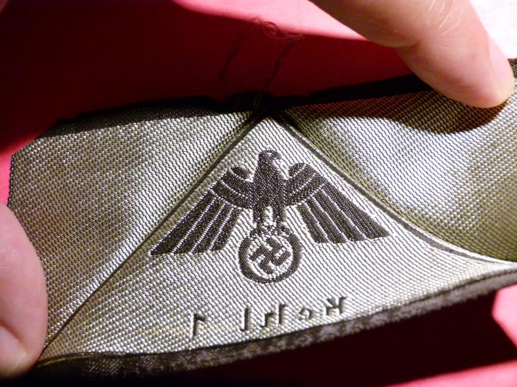 Identification insigne tissu All WWII. P1060831