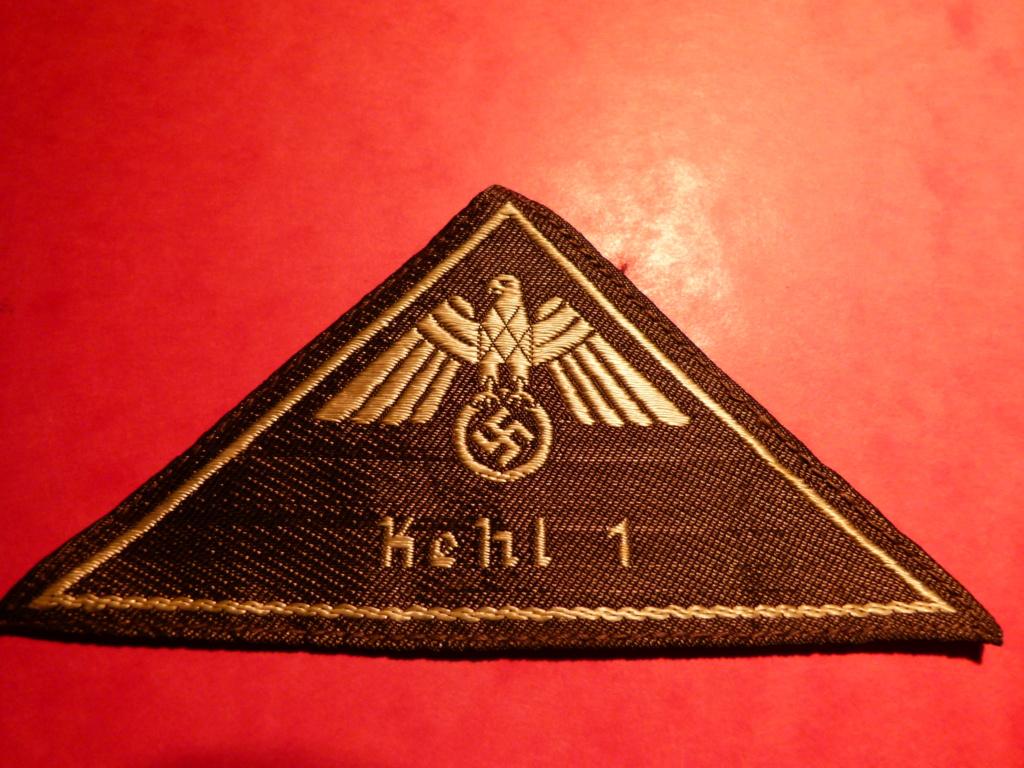 Identification insigne tissu All WWII. P1060832