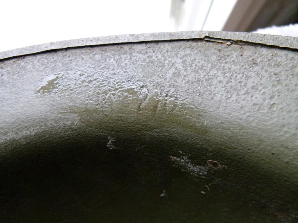 Marquage sur un casque Anglais. P1070318
