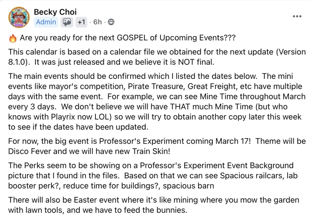 Upcoming events. March-April 2021  65395f10