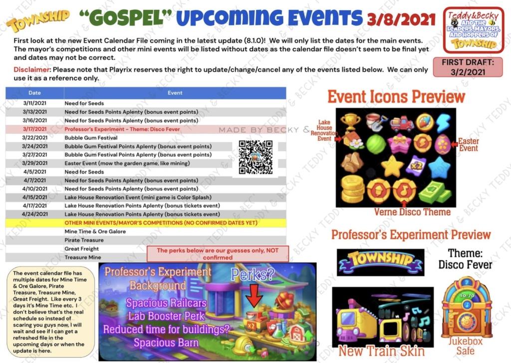Upcoming events. March-April 2021  6f698d10