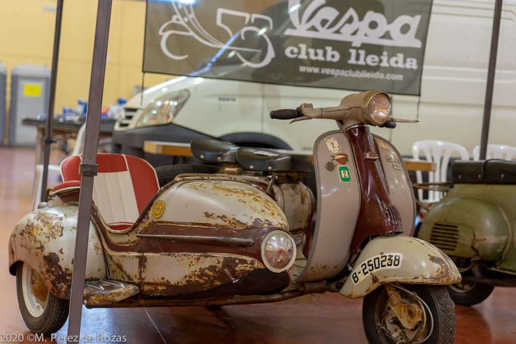 Vespas, en La Feria de Clásicos de Mollerusa  _dsc3412