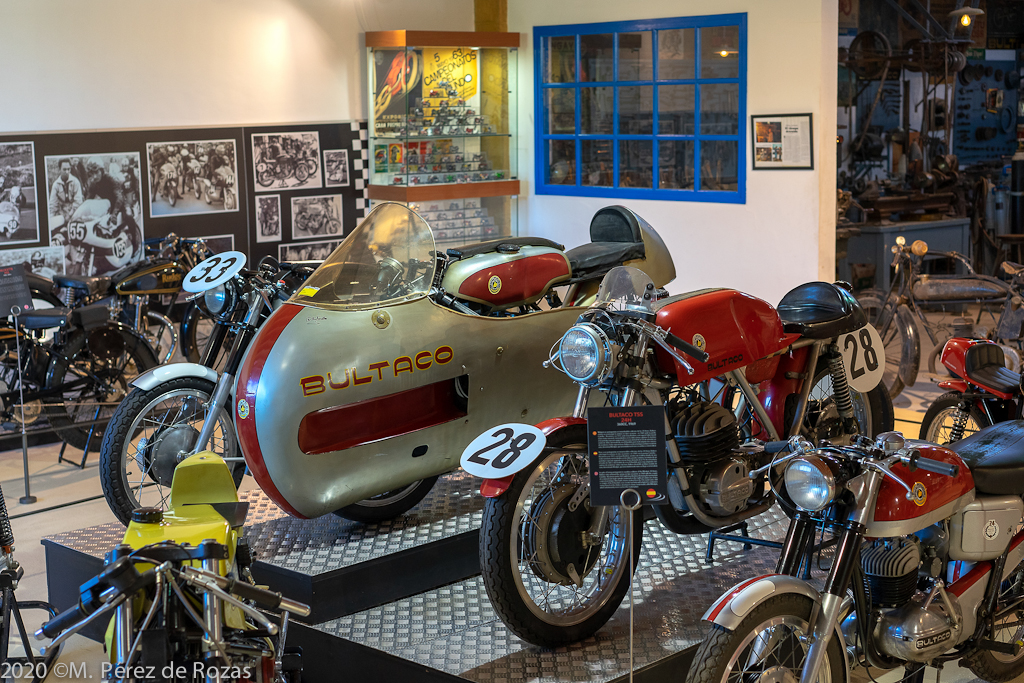 By Bultaco en Museo Moto Bassella Museo_16