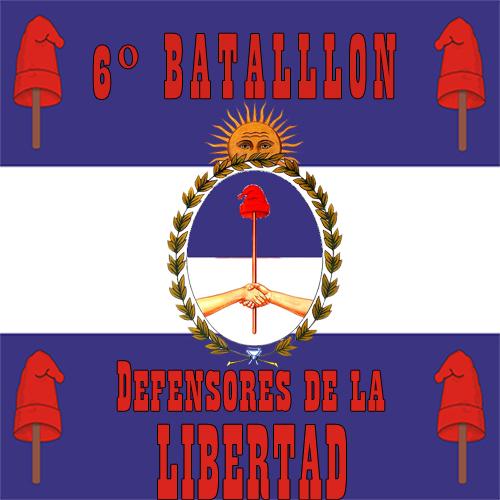 "El 6º Batallón ""Defensores de la Libertad"" abrió sus puertas a nuevos reclutas 6l12"